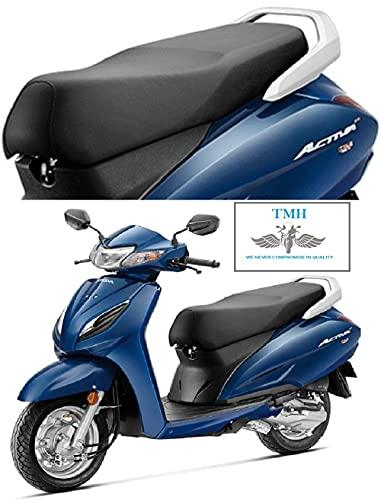 G Honda Activa 6G PU Leather Long Lasting, Washable Seat Cover (Black)