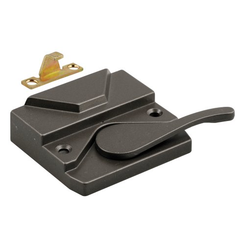 Prime-Line Products H 3573 Wood Casement Lock, Right Hand, Bronze Finish