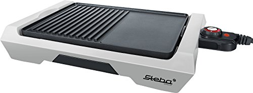 Steba VG 50 Barbecue de Table, Noir/Gris, 30 x 57 x 9 cm