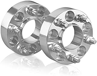 2 Wheel Spacers Adapters For 5 Lug Porsche Audi Fit 5x130 Porsche: 924 928 944 968 911 Boxster Cayman Panamera/VW Touareg/Audi Q7-1 Inch (25 mm)