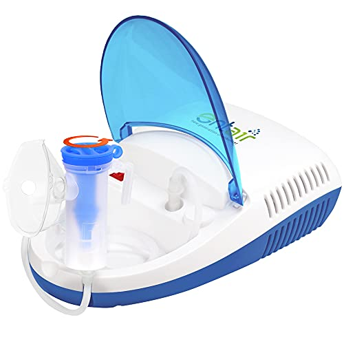 entair JK-17 Respiratory Steam Portable Mesh Nebuliser Machine for Baby Adults Kids & Sinus Asthma Inhaler Patients Nebulizer
