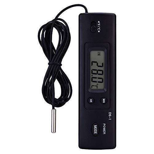 GXMZL Digitale thermometer, elektronische lcd-digitale temperatuurmeter, thermometer, sondesensor, gebundeld, voor koelkast