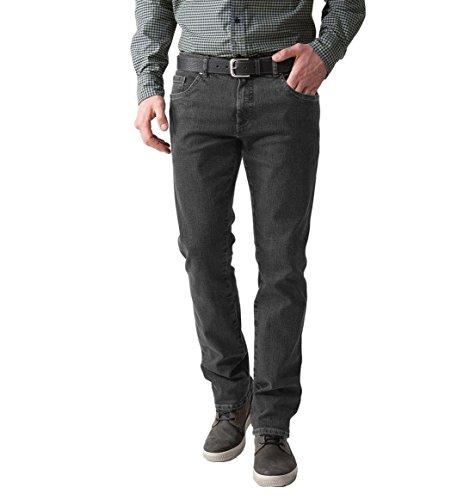 STOOKER - Herren 5-Pocket Jeans Denim Stretch Hose, Frisco (5190) - Granite Grey/Grau (32/32)