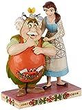 Disney Traditions, Figura de La Bella y La Bestia y Maurice, Para coleccionar, Enesco...