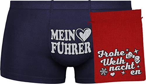 Herr Plavkin Mein Führer | zufällige Auswahl an Farben (BLAU, ORANGE)| red Bag | Silver ''Frohe Weihnachten''