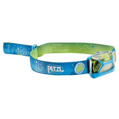 Petzl E091BA Jungen Tikkid Stirnlampe, Blau, Uni