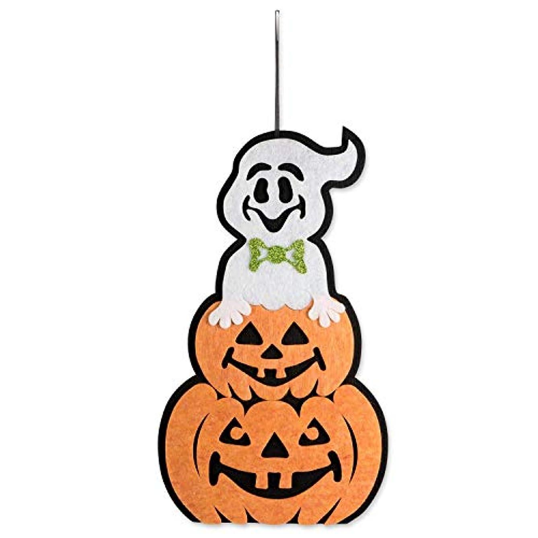 FDY MY Indoor Outdoor Non-Woven?Fabrics Halloween Hanging Door Decorations Wall Signs Home, School, Office, Party Decorations - Ghost Pumpkin