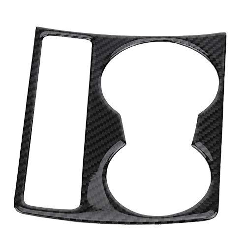Broco Sujetador central de fibra de carbono del coche Consola de taza de agua Panel de ajuste de la cubierta for Audi A4 B8 A5 2009-2015