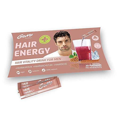 HAIR ENERGY 100% natürliches Haar Vitalgetränk für Haarwachstum, Haarwurzel & Haardicke | +Bockshornklee Extrakt +Bambus Extrakt +Biotin +Zink + Selen +Vitamin B-Komplex | Monatspackung 30 Portionen