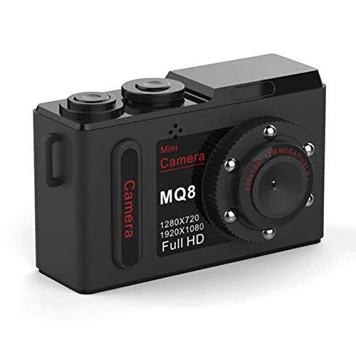 Mq8 Hd 1080P Mini Kamera Infrarot Nachtsicht tragbare kleine Kamera Mini DVR Digital Video Recorder - Schwarz