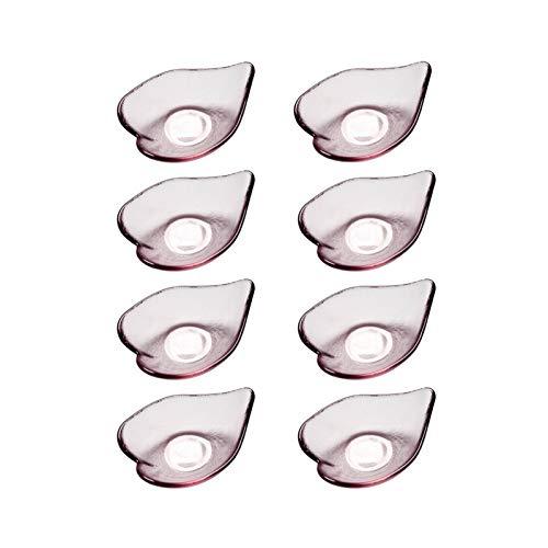 Plato para bocadillos Platos de Plato de Plato de Vidrio de múltiples múltiples Platos con Estilo Elegante de la Soja Salsa de Salsa Platos Buenos para Ketchup, Salsa de Soja bocadillos, Conjuntos de