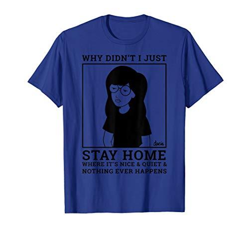 Daria Homebody Graphic T-Shirt