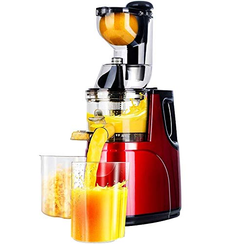 tianluo Manueller Entsafter Low Speed Large Wide Mouth Fütterungseinlass Whole Apple Orange Slow Juicer Sojabohnen-tofu-gemüsesaft-extraktor