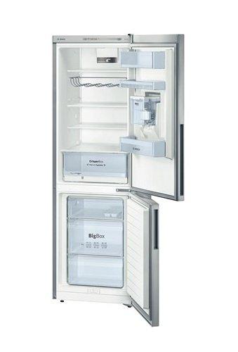 Bosch KGW36VL30S Kühl-Gefrier-Kombination/A++ / Kühlen: 215 L/Gefrieren: 94 L/Edelstahloptik/SuperGefrieren/CrisperBox