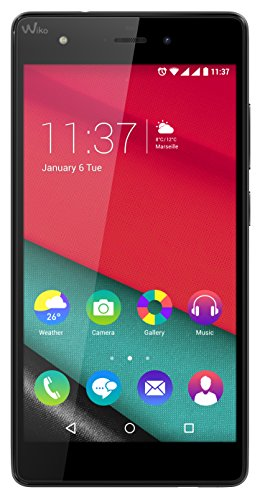 Wiko Pulp 4G Smartphone, 16 GB, Dual SIM, Nero
