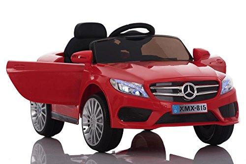 Babycar 815r Babyfun (rosso) Auto Elettrica Macchina per bambini bimbo bimba 12 volt di potenza con telecomando full optional porte apribili
