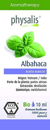 Physalis Esencia Albahaca 10Ml. Bio 1 unidad 10 ml