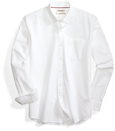 Goodthreads Standard-Fit Long-Sleeve Solid Oxford Shirt