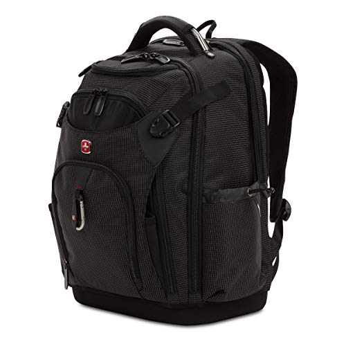 SWISSGEAR Work Pack Pro Ultimate Tool Protection Organization Durable Laptop Backpack with built-in USB port