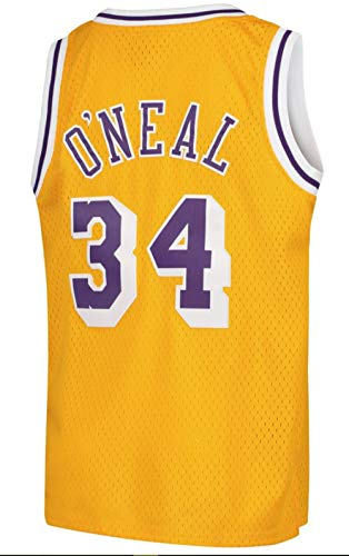 Youth Los Angeles Lakers Shaquille O'Neal Swingman Gold Jersey (Youth X-Large (18-20))