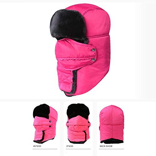 DYS@ Winter Trapper Männer Hut/Winddicht Maske Frauen Outdoor Ski Hut 1 STÜCKE,#1