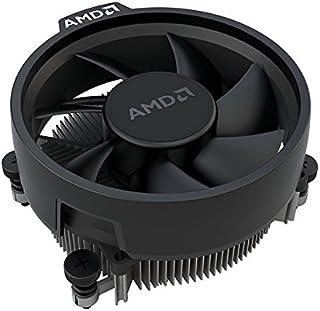 AMD Wraith Stealth Socket AM4 - Ventilador de CPU de 4 pines con disipador de calor de aluminio y ventilador de 3.93 pulgadas (delgado)
