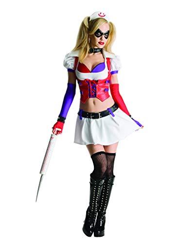 Horror-Shop Harley Quinn Arkham Asylum Kostüm XS