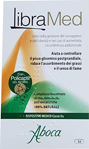 LIBRAMED 84 COMPRESSE DA 725MG CIASCUNA