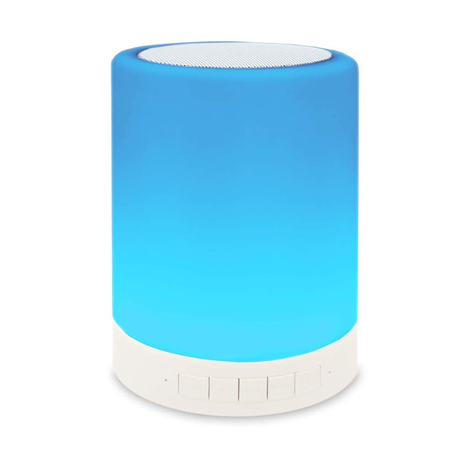 Night Light Bluetooth Speakers, Touch Control Bedside Lamp Dimmable Color Outdoor Table Lamp with LED Mood, Best Gift for Men Women Teens Kids Children Sleeping Aid Bedroom