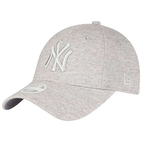 New Era WMNS MLB Jersey 9Forty Damen Adjustable Cap NY Yankees Hellgrau, Size:ONE Size