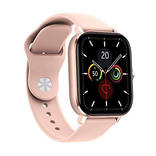RIGHT TECHNOLOGY APOLLY 3 Smartwatch für Damen,1.75 Zoll Touch-Farbdisplay. Fitness Armbanduhr mit Pulsuhr Fitness Tracker Wasserdicht Sportuhr mit Schrittzähler,Schlafmonitor, IOS/Android kompatibel
