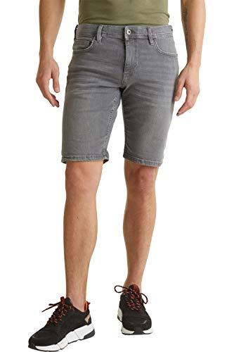 edc by Esprit 030CC2C309 Shorts, Herren, Grau 34 EU