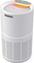 RENPHO Air Purifier for Home Allergies and Pets Hair, Large Room 240 SQ.FT, True HEPA Filter, Quiet Air Cleaner Odor Eliminators in Bedroom for Mold Bacteria, Smoke, Germ, Dust and Pollen, Timer White