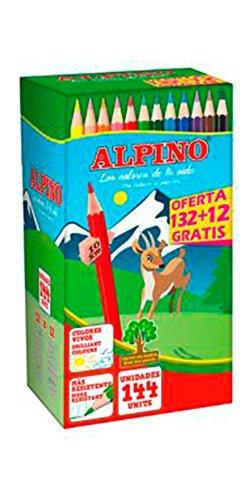 Alpino C0131144 - Pack de 144 lápices