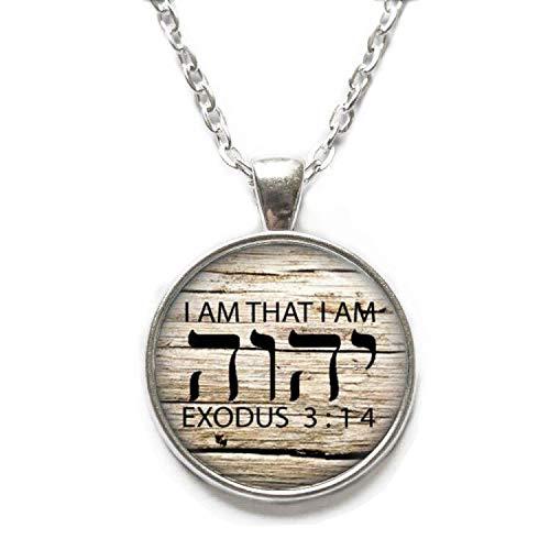 Ni36uo0qitian0ozaap Tetragrammaton Symbol Necklace,Jehovah