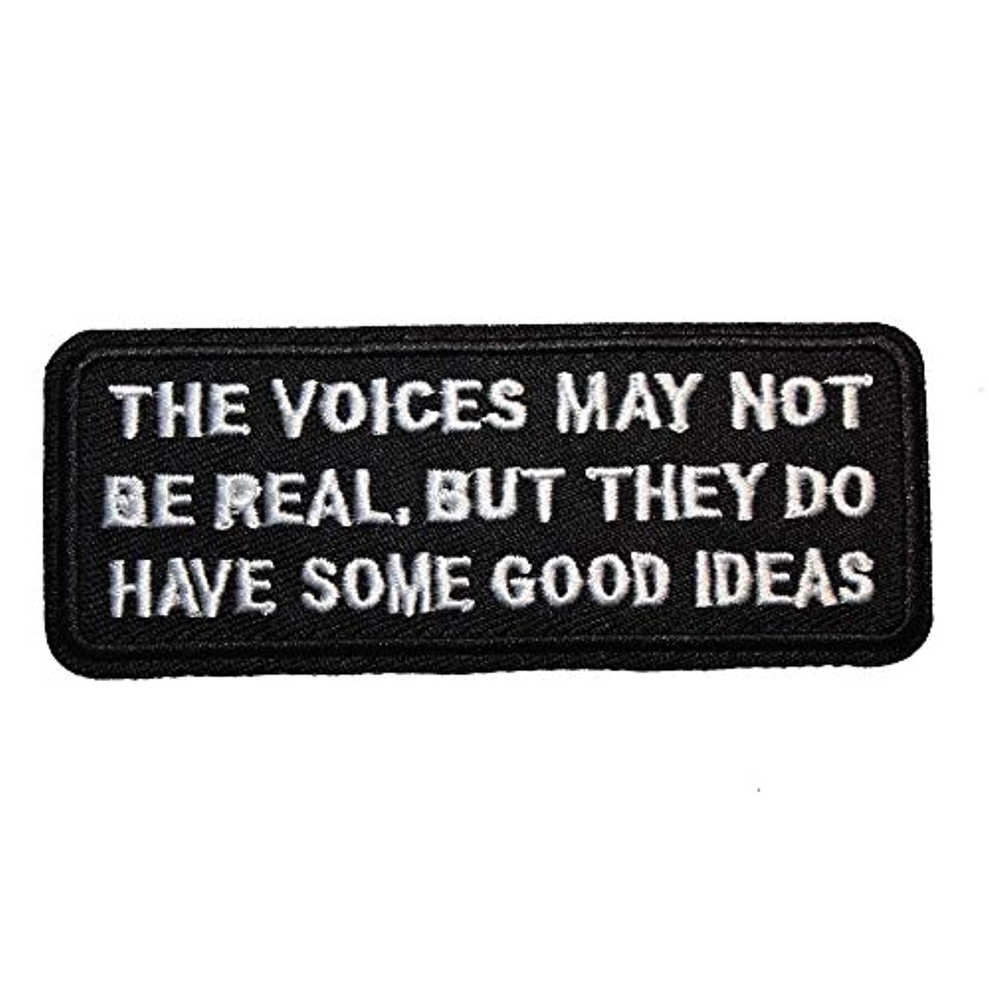 U-Sky Sew or Iron on Patches - The Voice May NOT BE Real BUT They DO Have Some Good Ideas Patch