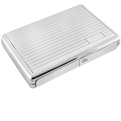 SILBERKANNE Zigarettenetui Müchen 8x11x1 cm Silber 925 Sterling 100 Gramm in Premium Verarbeitung
