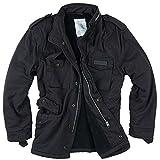 Surplus Men's Paratrooper Winter Jacket Black Washed size 3XL