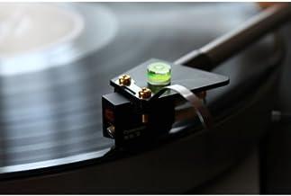 Vinyl Guru - Mini nivel de burbuja para brazo de tocadiscos