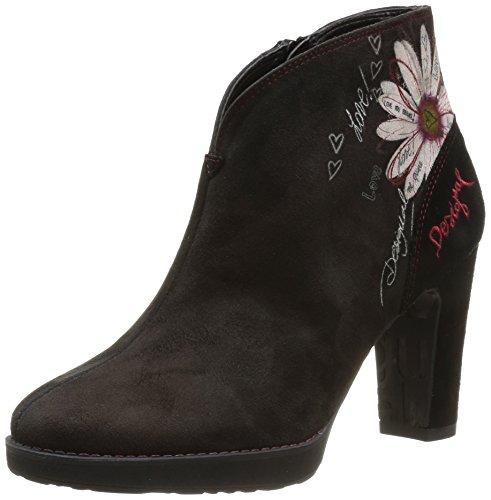 Desigual Iviernu, Boots Femme - Noir (2000 Negro), 37 EU