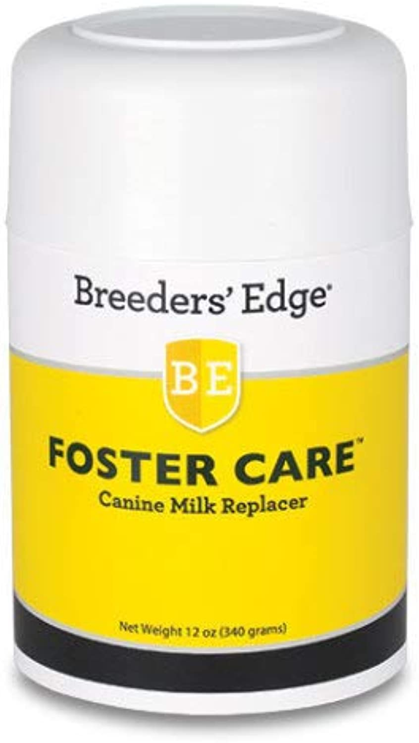 Breeders Edge Foster Care Canine Powdered Milk Replacer 12oz for puppies & dogs by Revival Animal Health