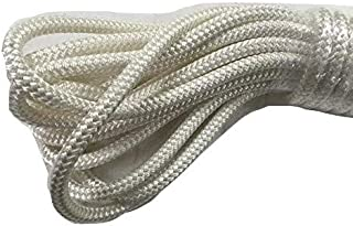5/16 Inch by 60 Feet Double Braid Polyester Rope White