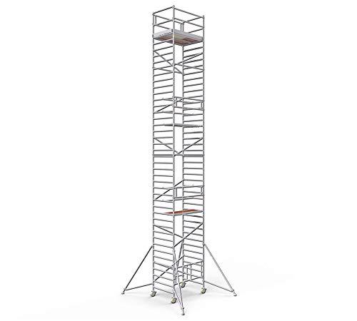 Profigerüst ALTEC AluKlik XXL, 3 m bis 14 m Arbeitshöhe, TÜV-geprüft (14 m)