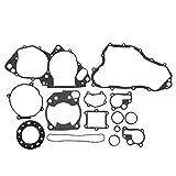KIMISS Juego de juntas del motor, juego de juego completo de juntas del motor del extremo superior inferior apto para CR250R 1992-2001