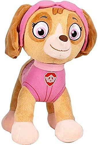 Play by Play Peluche Personaje Skye - LA Patrulla Canina - COOCKER Spaniel Rosa (18cm de pie)