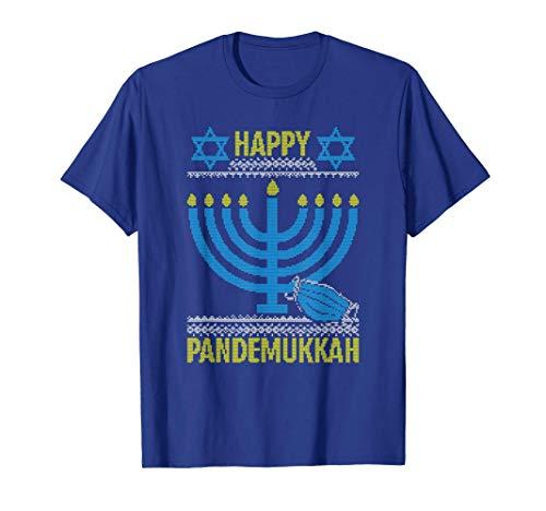 Happy Pandemukkah Social Distancing Quarantined Hanukkah T-Shirt