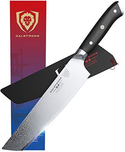 Dalstrong Premium Japanisches Tanto Damastmesser - Kochmesser - 20 cm - Shogun Series - Damaskus - Japanischer AUS-10V Super Stahl