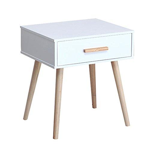 LiuJF-tables/Chair Mini vakken naast het bed. Kleine woning hoekkast tafellamp tafel bloempot tafel decoreren tafel hout lade
