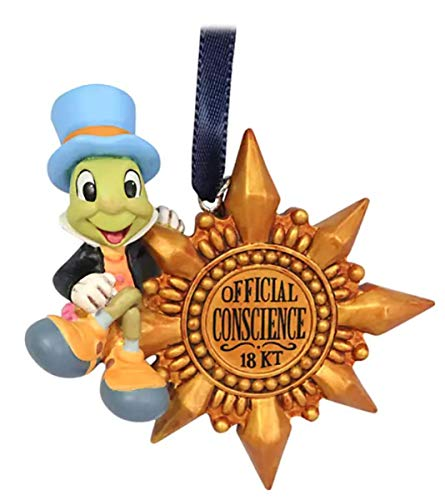 Sketchbook Jiminy Cricket Ornament – Pinocchio