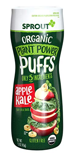 Sprout Organic Plant Power Puffs